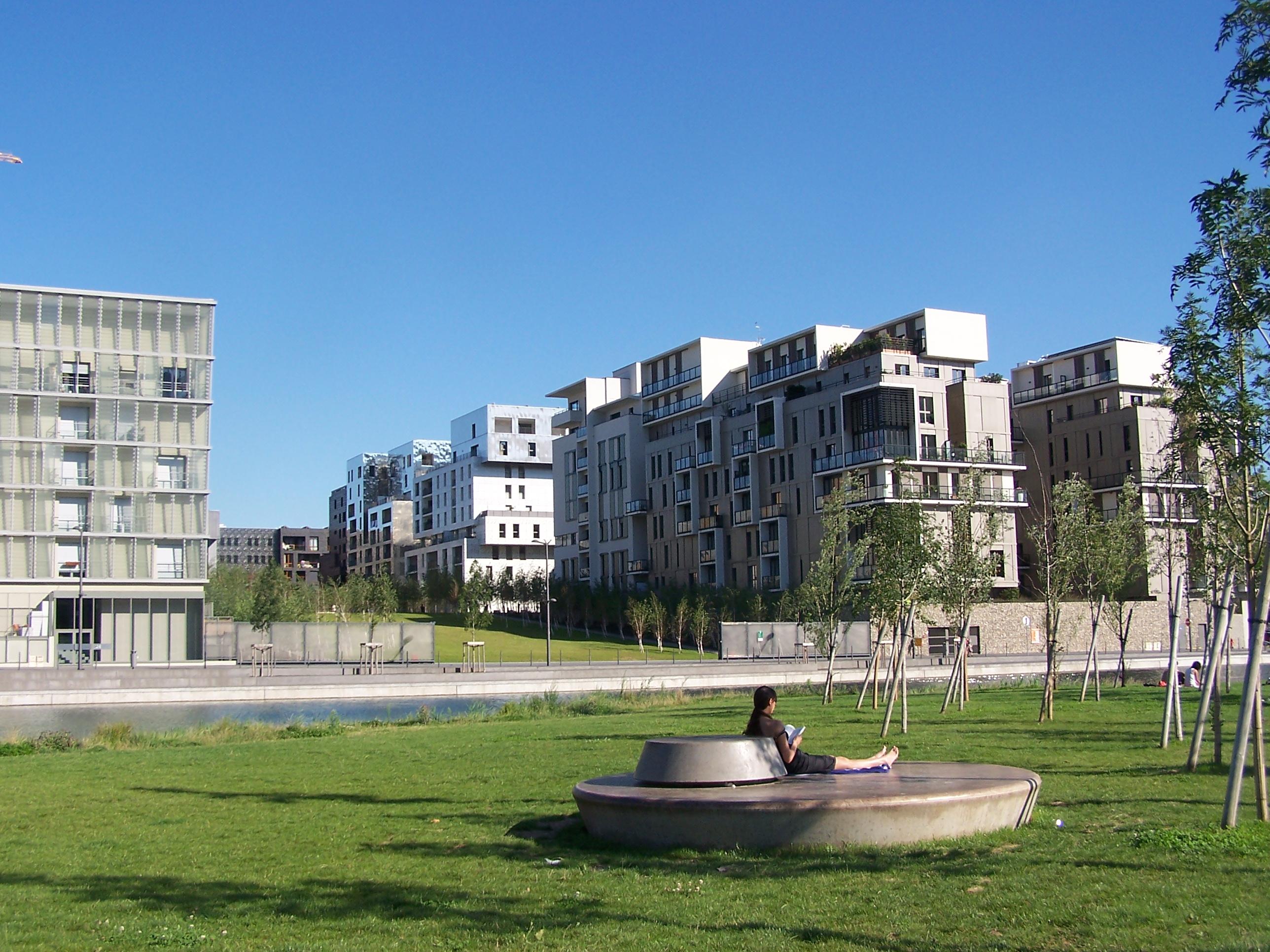 La ville verte à Lyon