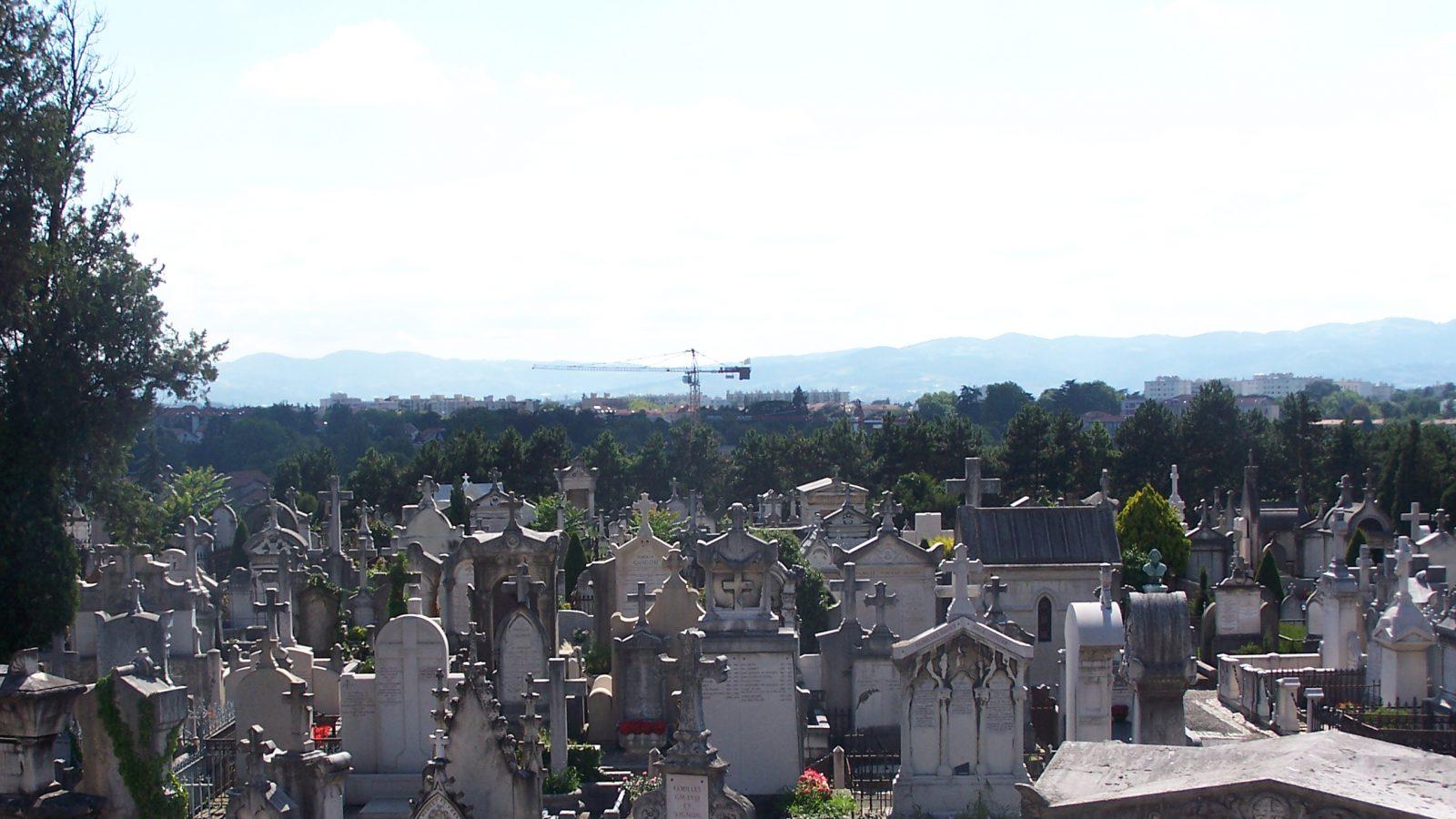 le cimetière de Loyasse
